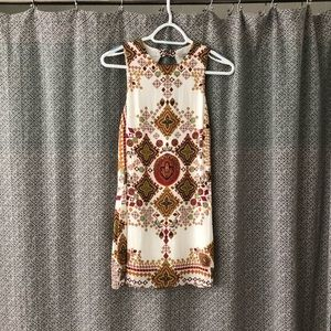 Urban Outfitters Ecoté white patterned tank dress